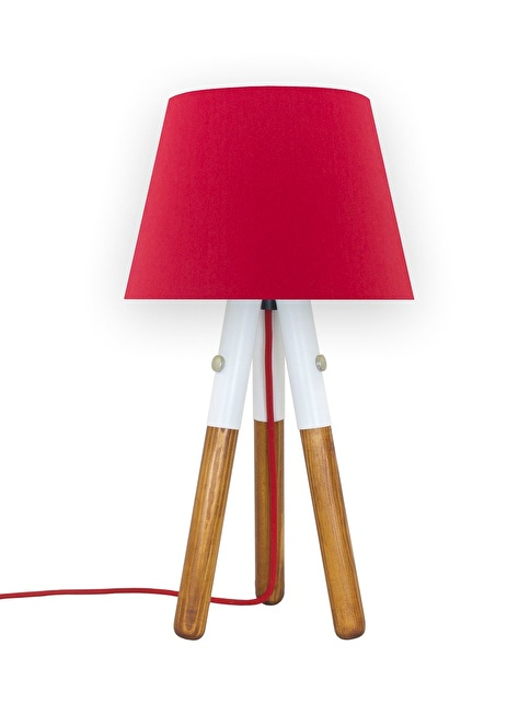Crea Lighting Abajur Kırmızı